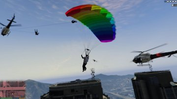 Just Cause 2 Grappling Hook - GTA5