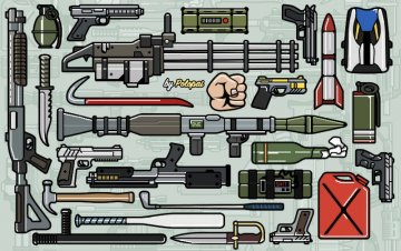 Colored Weapon Icons - GTA5