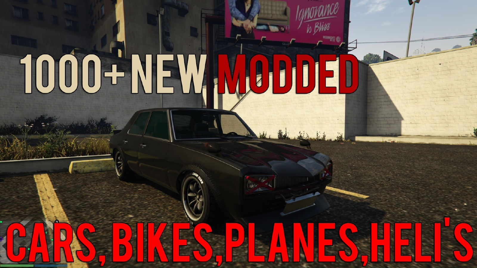 1000 modded vehicles for gta v