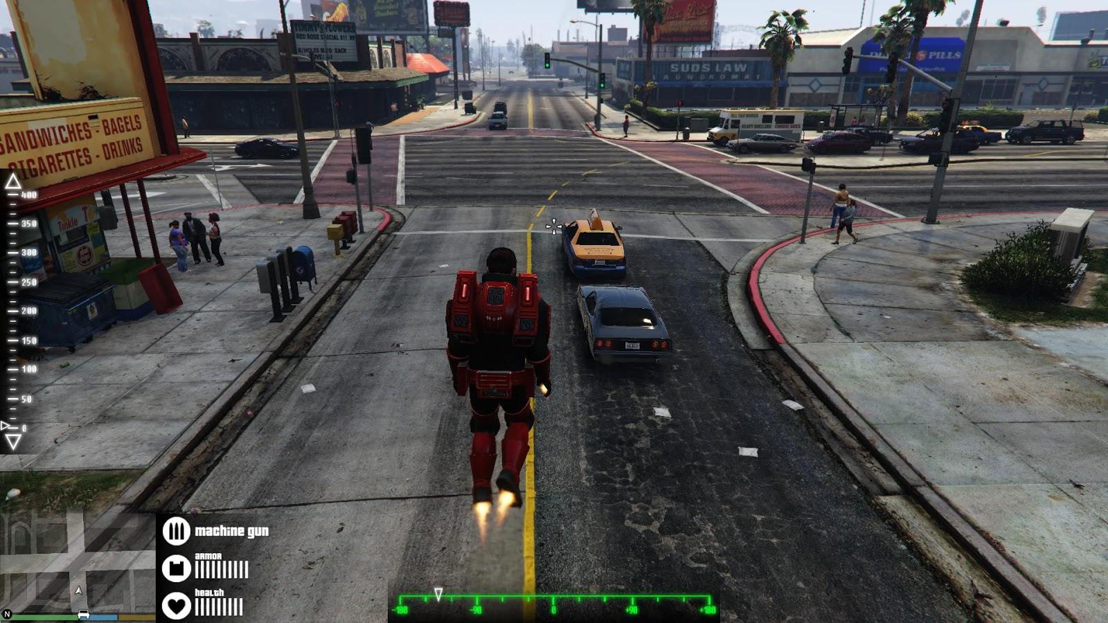 IronmanV script mod - Mods pour GTA V sur GTA Modding