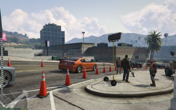Work Zone / Construction - GTA5