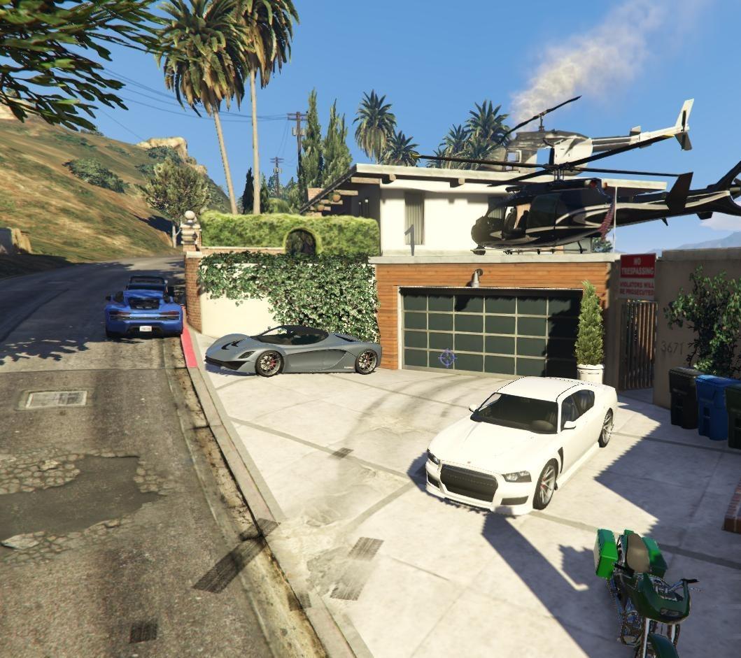 Franklin's House VIP - Mods pour GTA V sur GTA Modding