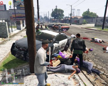 Gang War Reloaded (War-Combat Mod) - GTA5