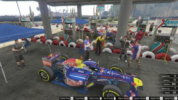 Formula One - F1 Track With Pitstop - Huge Track - GTA5