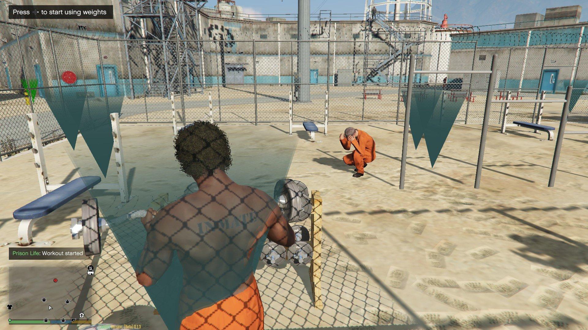 Gta 5 Prison Life 02 Jobs In Der Knast Mod Let S Play Gta V
