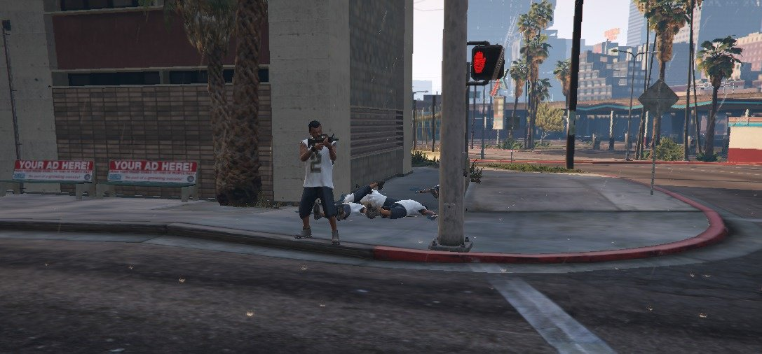 More crime mod - GTA5