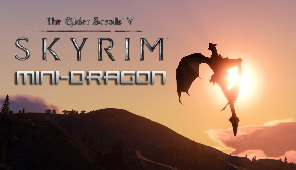 Skyrim Mini-Dragon - GTA5