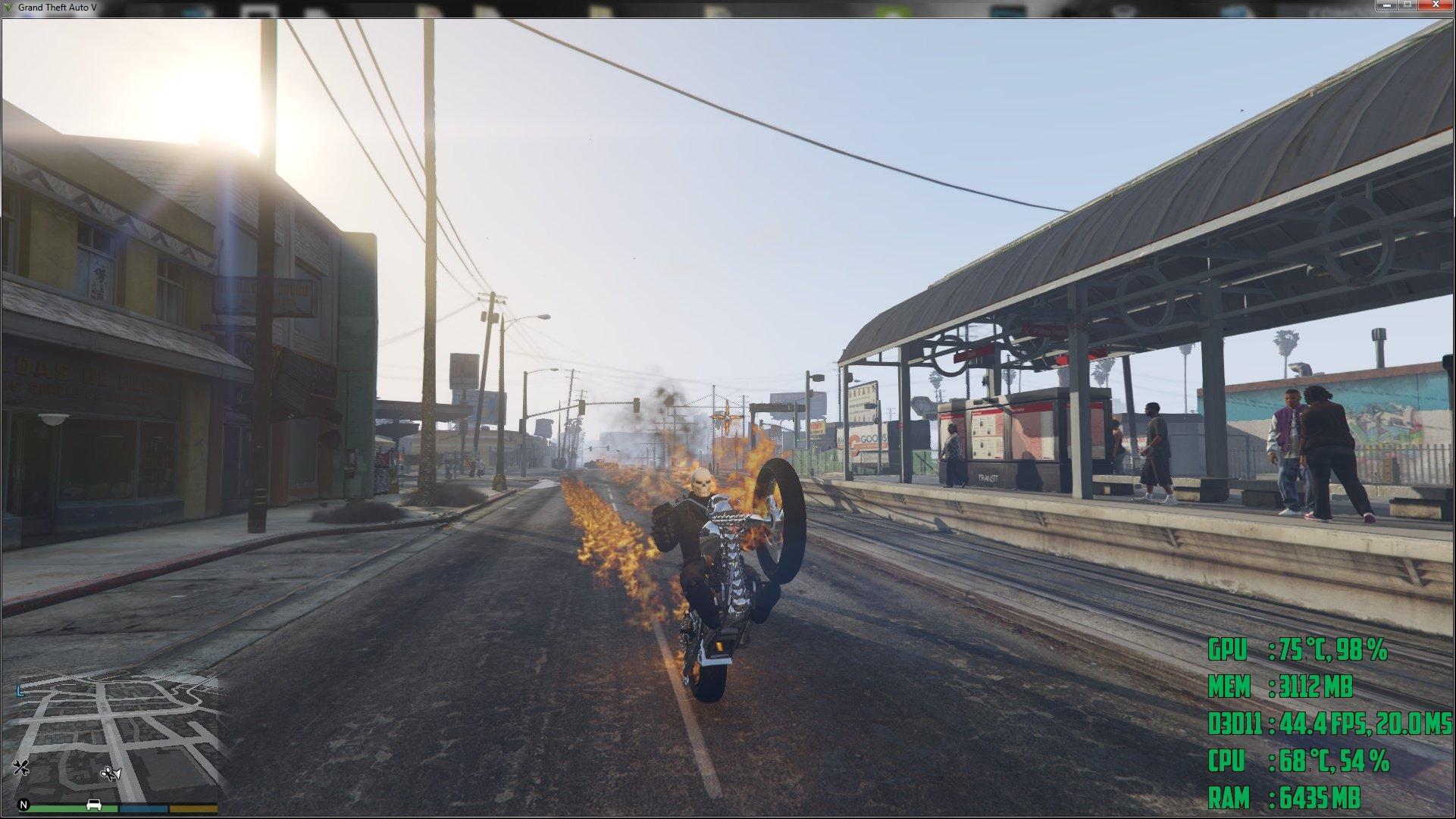 Ghost Rider Script - Mods pour GTA V sur GTA Modding