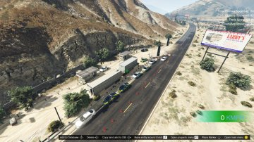 Barage routier police (map editor /menyoo)
