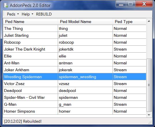 AddonPeds - Mods pour GTA V sur GTA Modding
