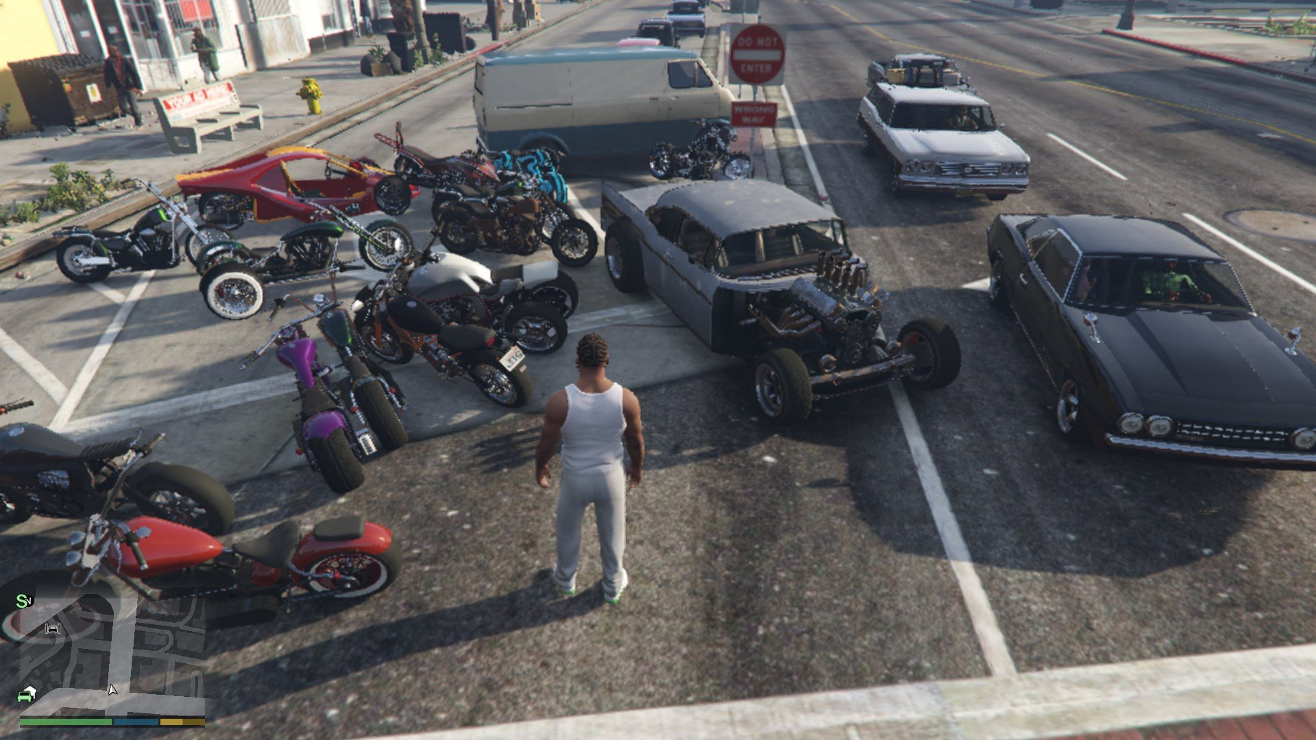 Spawn MP Vehicles in SP - GTA5