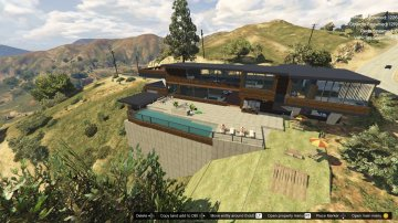 Billionaire's Vinewood Hills Mansion