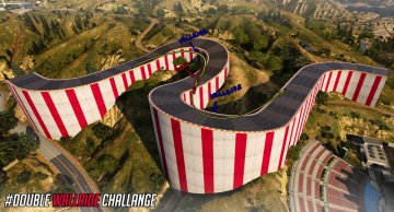 Double WallRide Challenge (Map Editor)