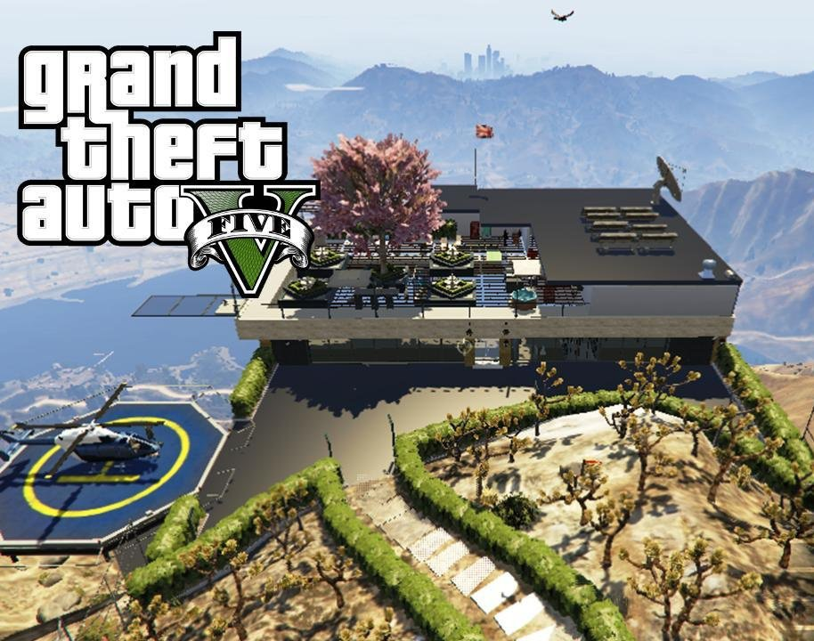 Top of the World Mansion (Mount Chiliad) - GTA5