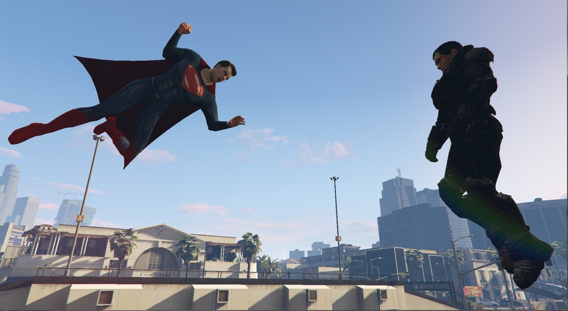 Superman script mod - GTA5