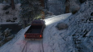 Realistic Snow Traction - GTA5