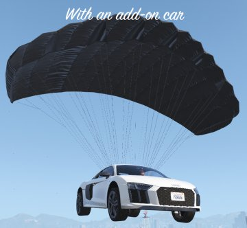 Parachute for all vehicles - GTA5