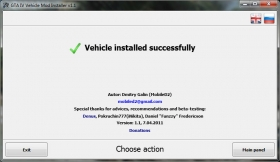 GTA IV Vehicle Mod Installer - GTA4
