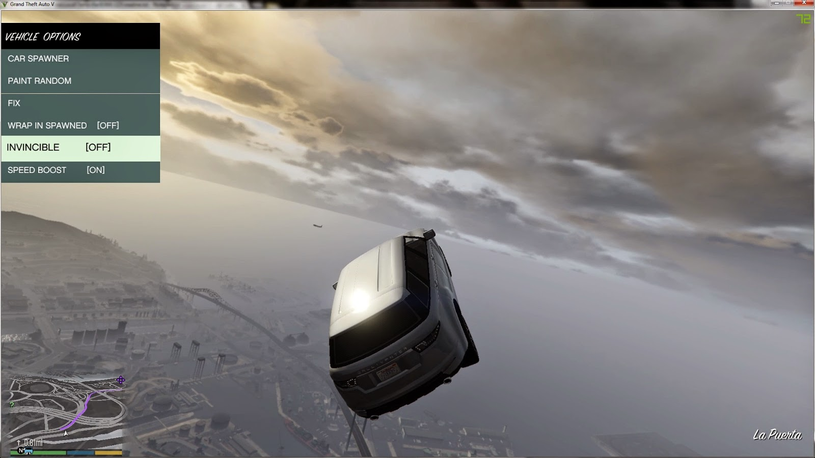 ScriptHookV + Native Trainer V14 - Outils pour GTA V sur GTA