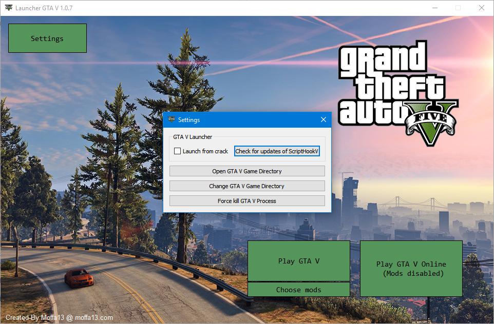 Launcher GTA V (compatible 3DM) - Outils pour GTA V sur GTA Modding