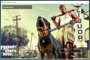 GTAV Modded Launcher - GTA5