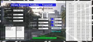 XtremToolBox -- Hash / DeHash / XYZ Coords Objects -- - GTA5