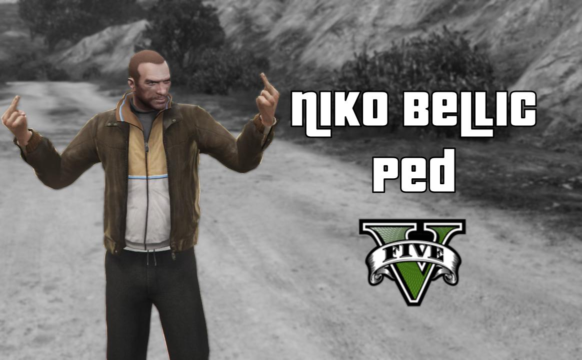 Niko Bellic Ped Mod - Personnages pour GTA V sur GTA Modding