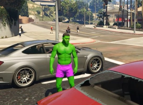 The HULK Franklin - GTA5
