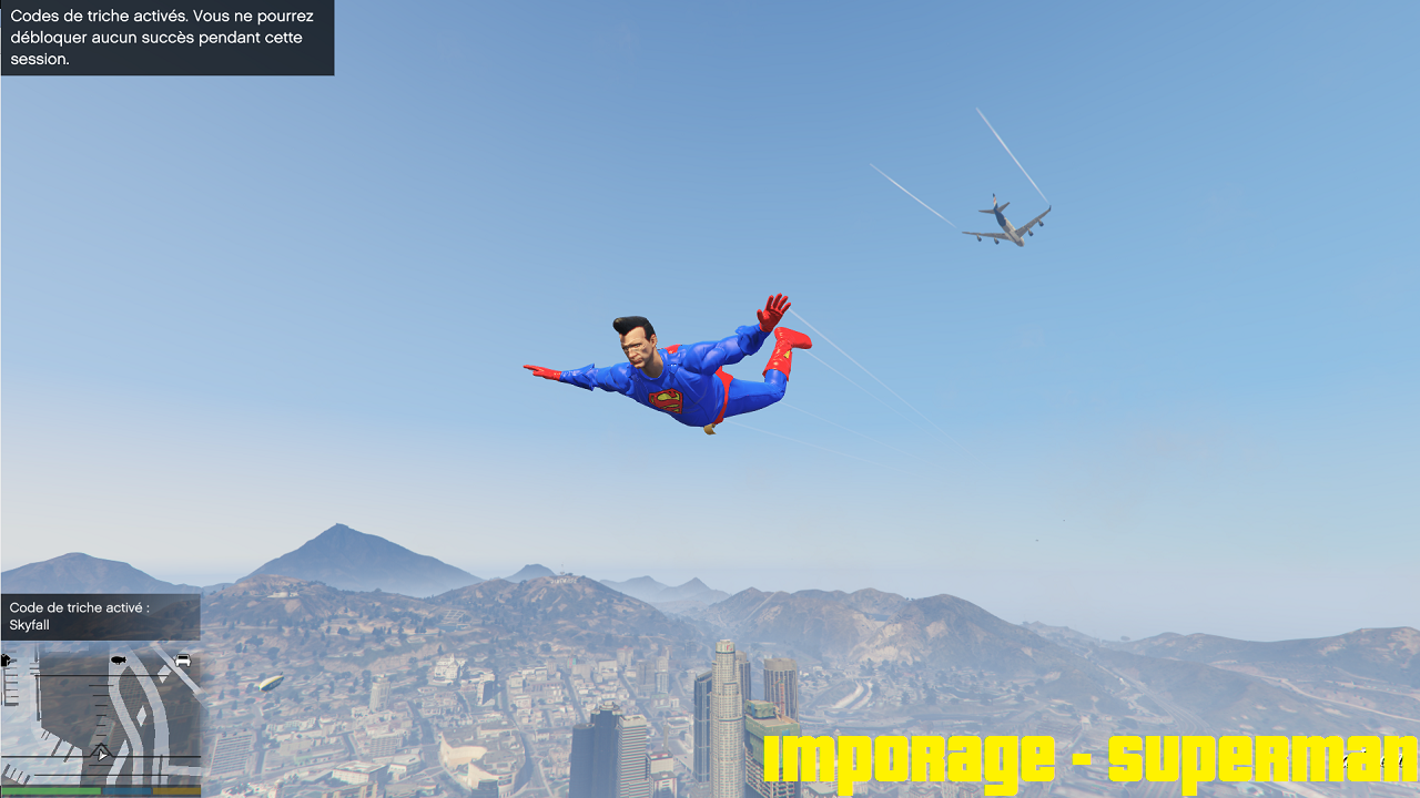 Imporage à Superman - GTA5