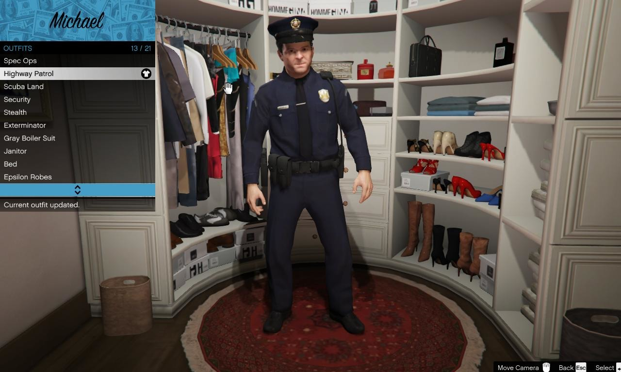 Michael LSPD Uniform - GTA5