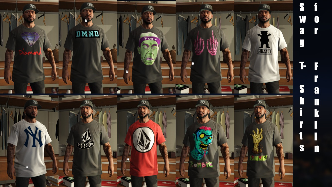 Swag T-Shirts for Franklin - GTA5