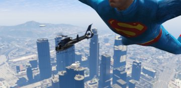 Superman The Movie Suit - GTA5