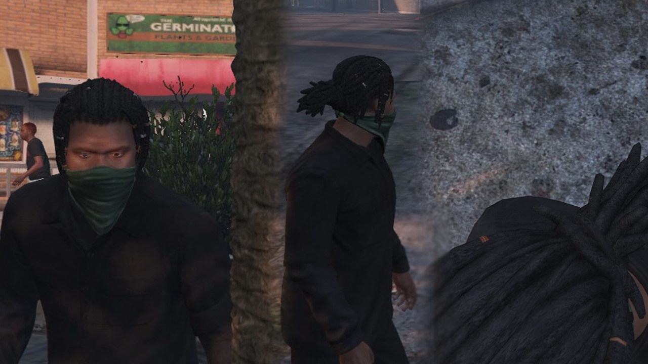 Franklin with dreads - GTA5