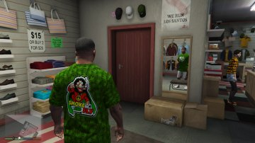 T-Shirt Rasta - GTA5
