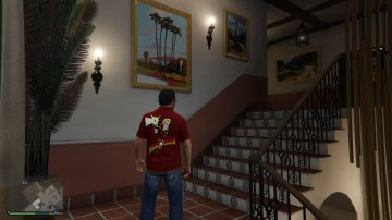 T-Shirt Flash Gordon - GTA5