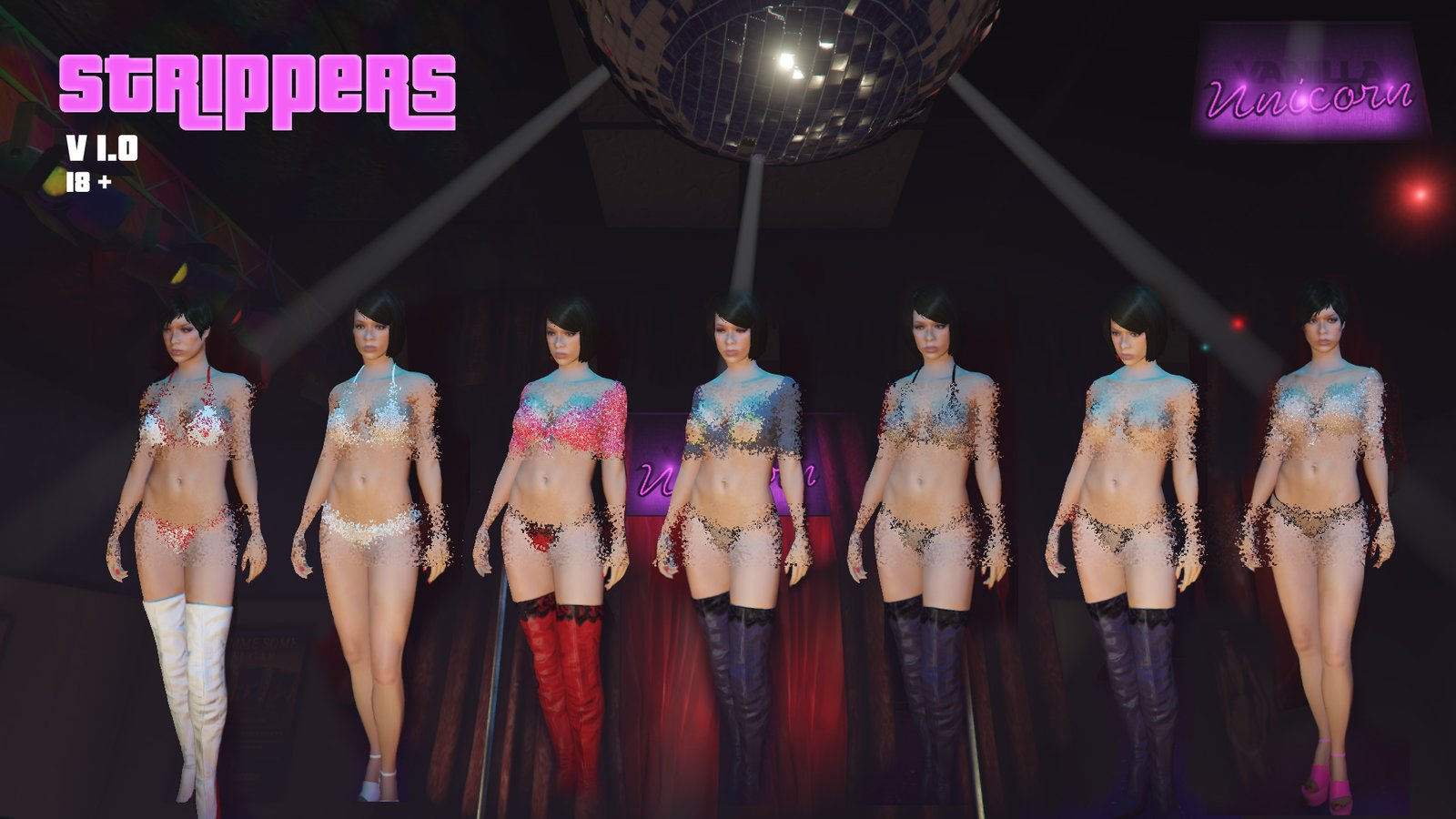 New Strippers - GTA5