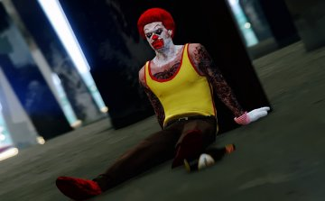 Trevor as: The REAL Ronald McDonald - GTA5