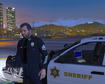 Fictional LAPD Pack - Peds - GTA5