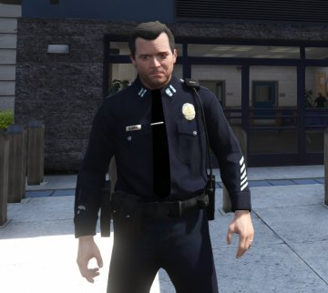 Fictional LAPD Pack - Peds