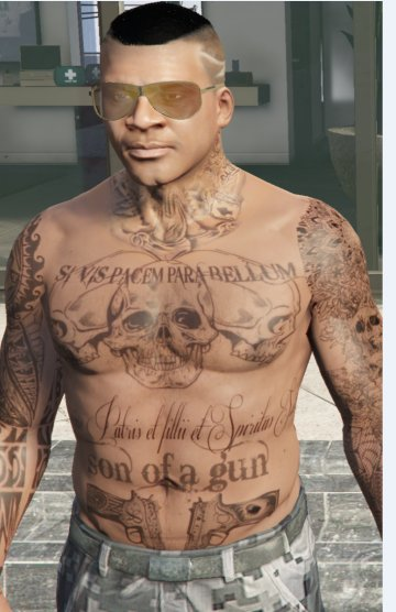 Tattoos for Franklin - GTA5