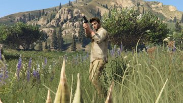Uncharted 3 Nathan Drake [Player Mod] - GTA5