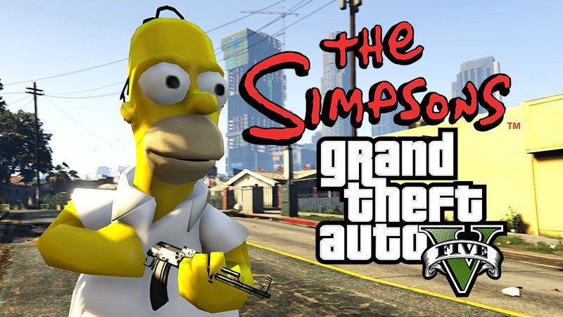 Homer Simpson [Add-On] - GTA5