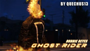 Ghost Rider (Robbie Reyes) [Add-On]