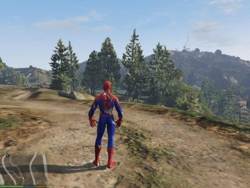 Spider-Man (Damaged) [Add-On Ped] - GTA5