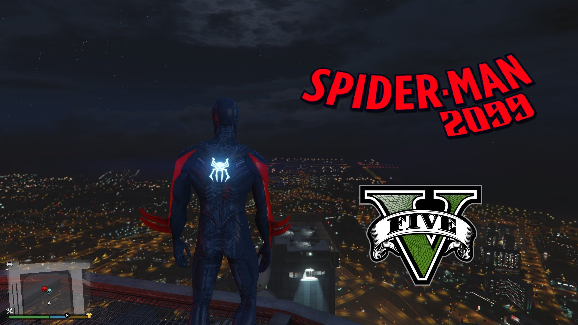 Spiderman 2099 [Add-On Ped] - GTA5