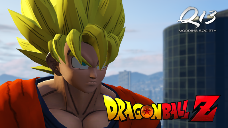 Dragon Ball Z Goku - GTA5