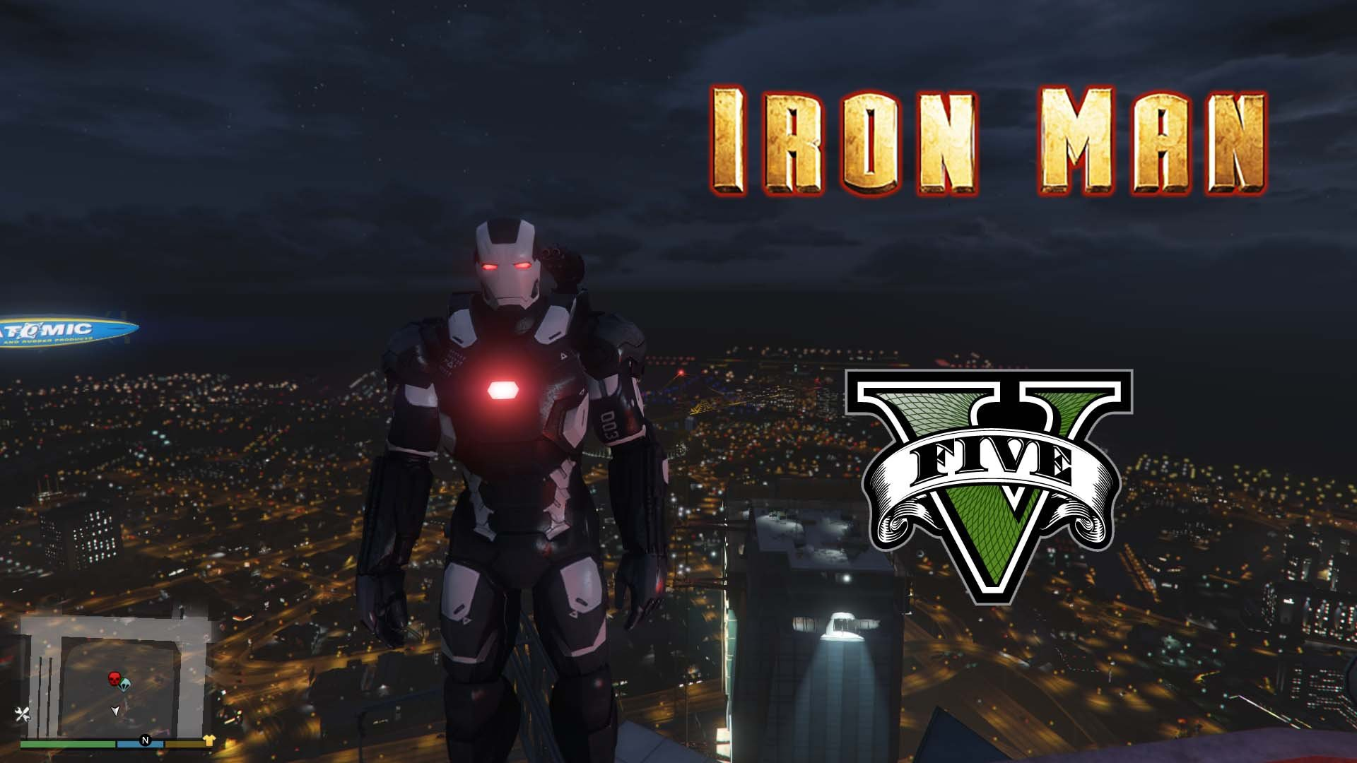 War Machine Mark III Civil War [Add-On Ped] - GTA5