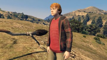 Harry Potter Character Package [Add-On Ped] - GTA5