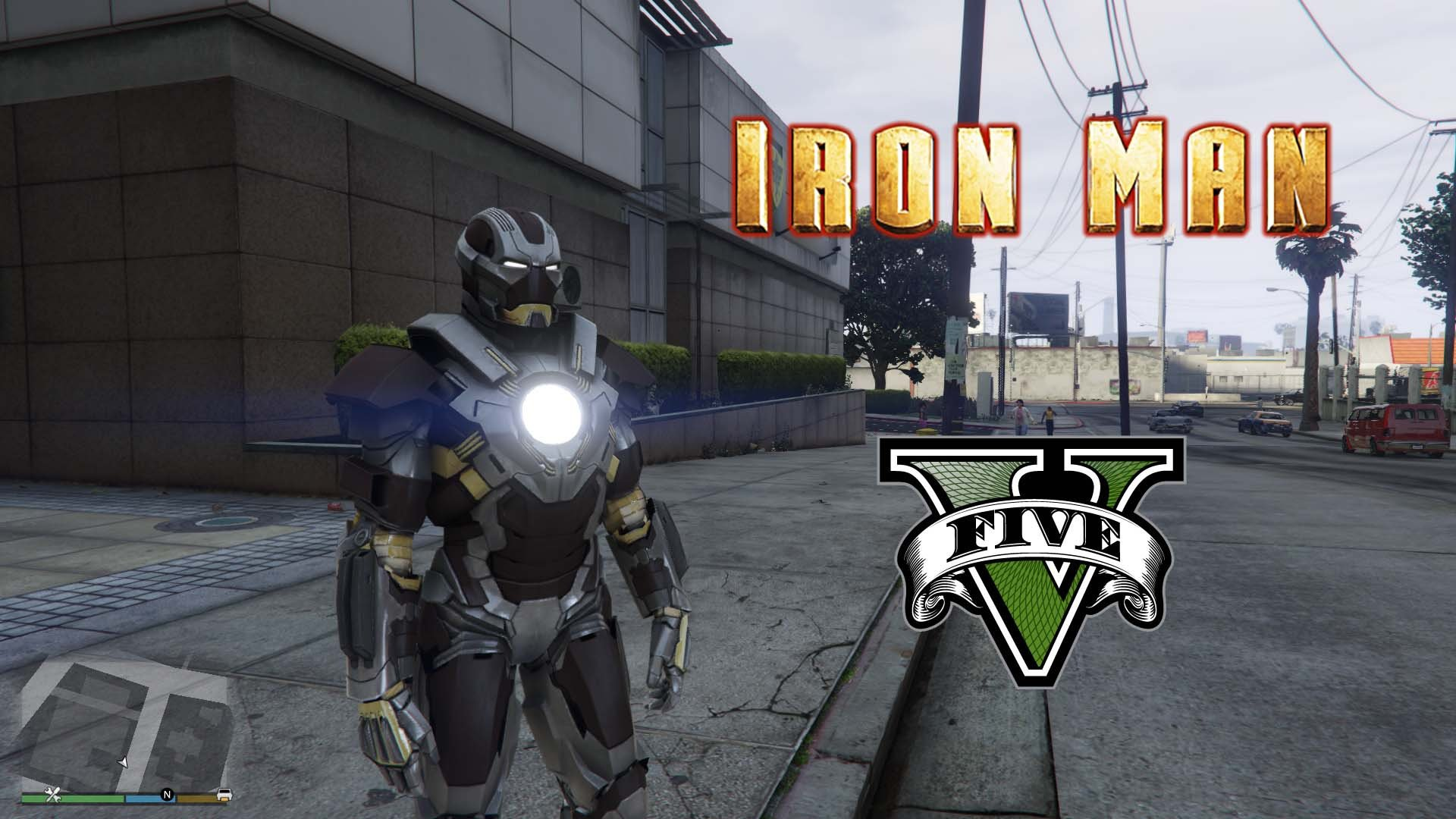 Iron Man Mark 24 Tank [Add-On Ped] - GTA5