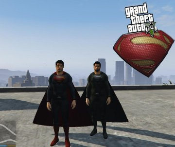 Superman (Man Of Steel) [Add-On Ped]